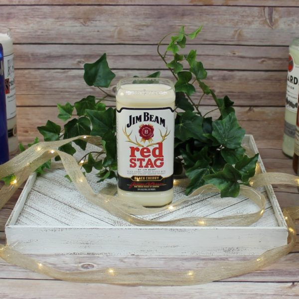 Red Stag Candle