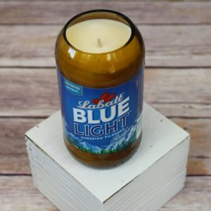 Beer Bottle Soy Candle