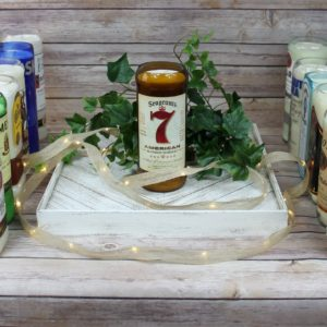 Liquor Bottle Candle