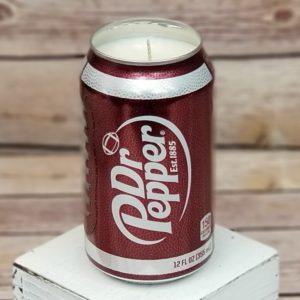 Dr Pepper Football Candle