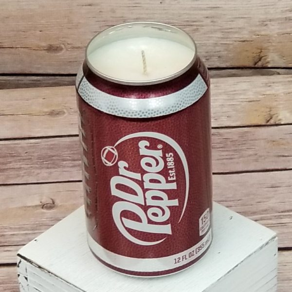 Dr Pepper Soda Candle