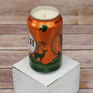 Busch Beer Can Soy Candle