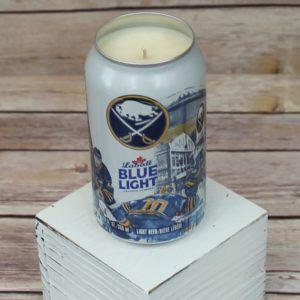 Labatt Sabres Beer Can Soy Candle