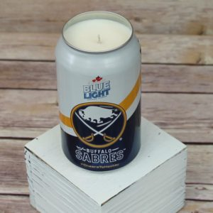 Labatt Sabres Beer Can Soy Candle
