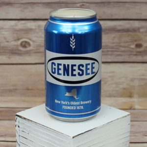 Genesee Beer Can Soy Candle