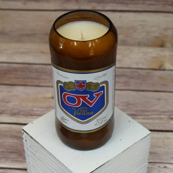OV Beer Bottle Soy Candle