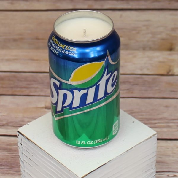 Sprite Soda Can Soy Candle