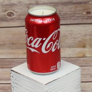 Coke Soda Can Soy Candle