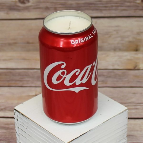 Coke Can Candle