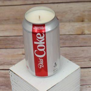 Diet Coke Soda Soy Candle