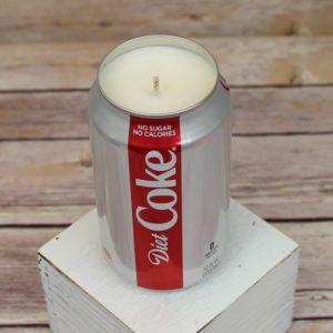 Diet Coke Soda Candle