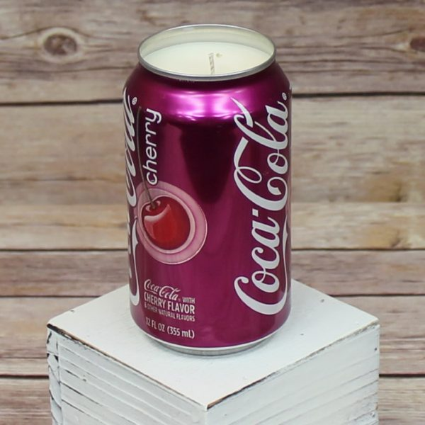Cherry Coke Soda Candle