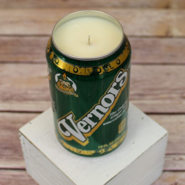 Vernors Soda Can Soy Candle
