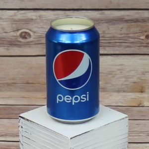 Pepsi Can Candle