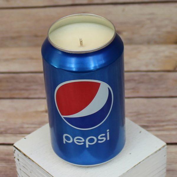 Pepsi Soda Candle