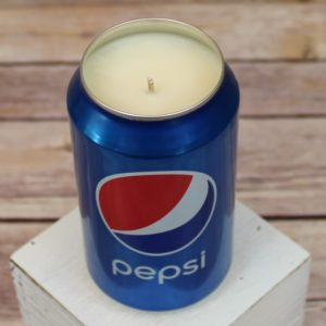 Pepsi Soda Can Candle