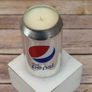 Diet Pepsi Soy Candle