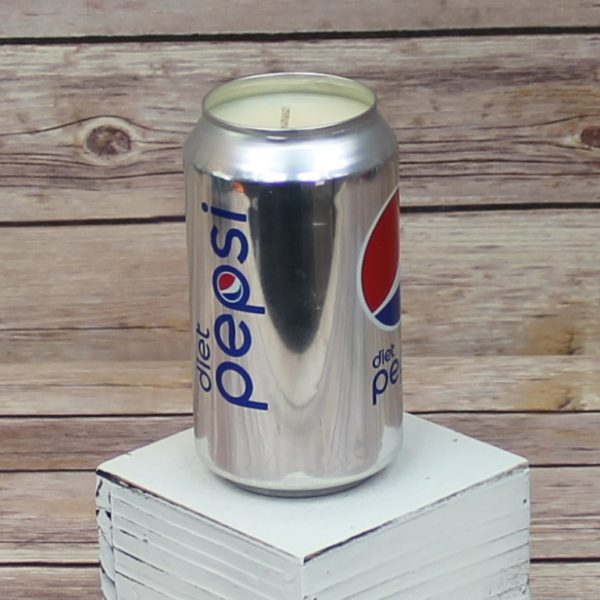 Diet Pepsi Soda Candle
