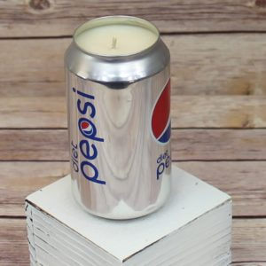 Diet Pepsi Candle