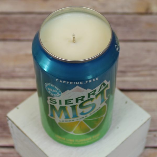 Sierra Mist Soda Can Candle