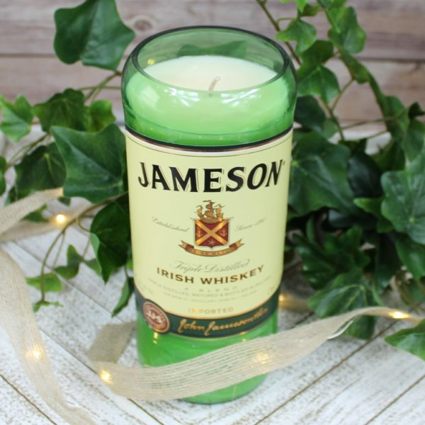 Liquor Bottle Soy Candle