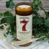 Seagrams 7 Liquor Bottle Soy Candle