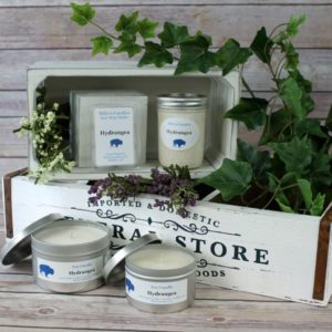 Hydrangea Soy Candles