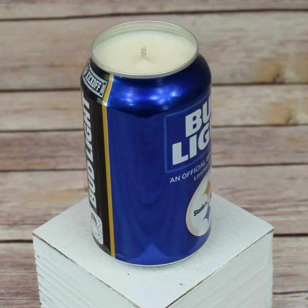 Steelers Beer Candles