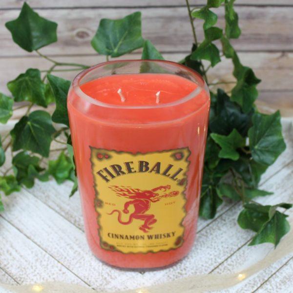 Fireball Bottle Candle
