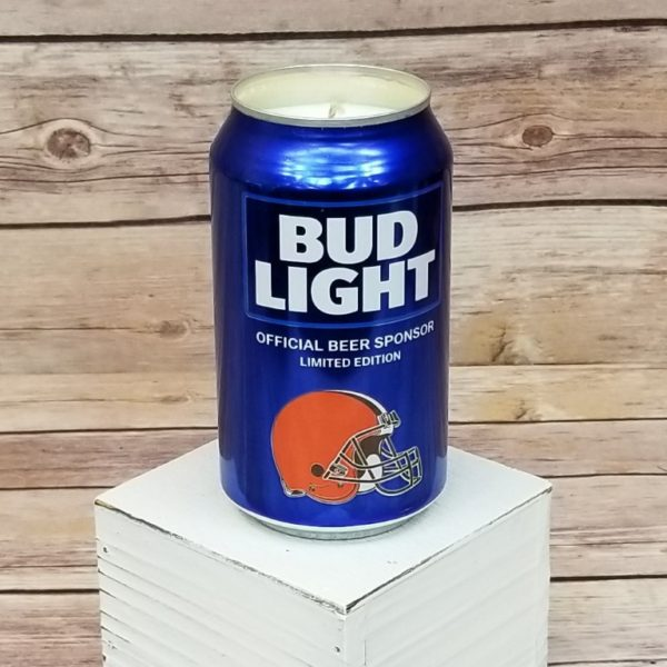 Cleveland Browns Bud Light Candle