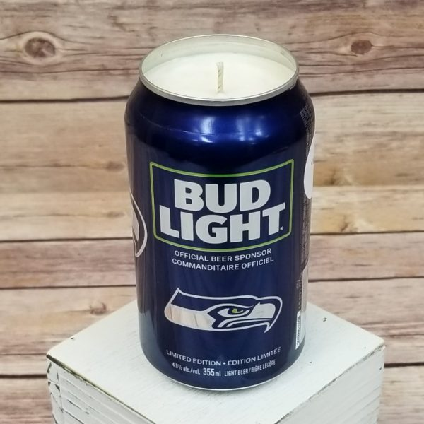 Seattle Seahawks Candle