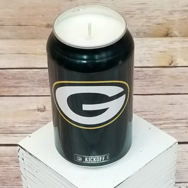 GB Packers Candle