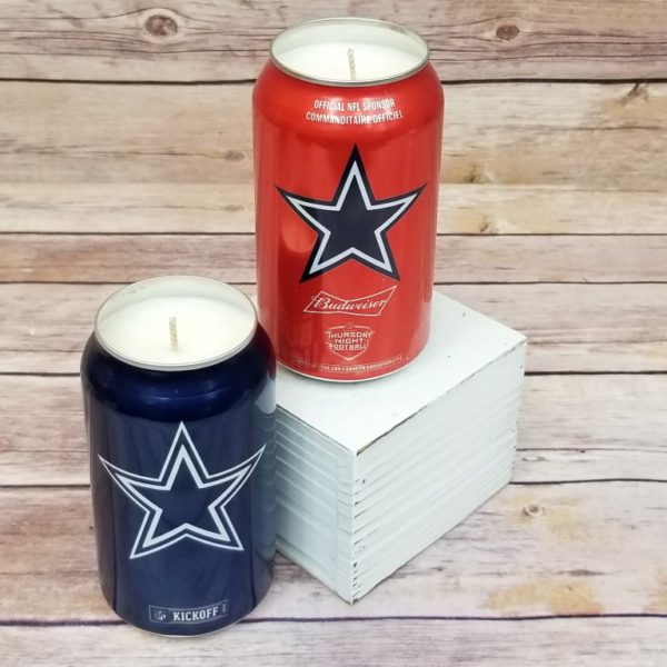 Dallas Beer Candle