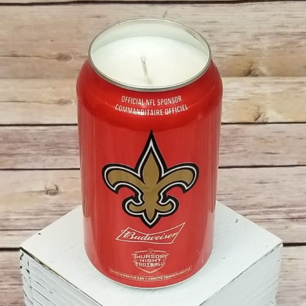Bud Light Beer Candle