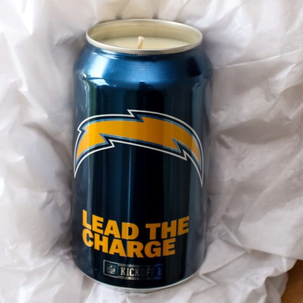 Chargers Candle