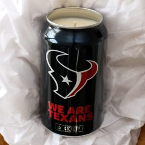 Texans Candle