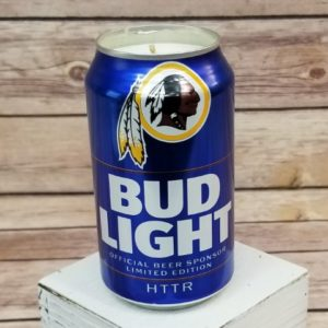 Washington Redskins Candle