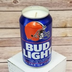 Cleveland Browns Candle