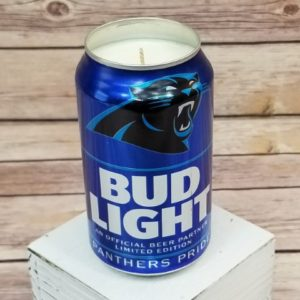 Carolina Panthers Candle