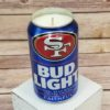 San Francisco 49ers Candle