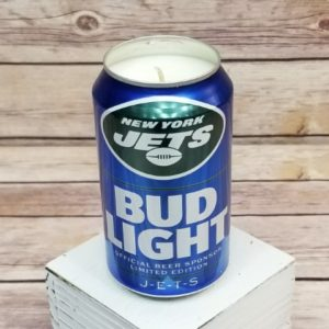 Bud Light New York Jets Candle