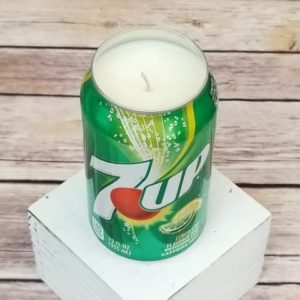 7 Up Candle