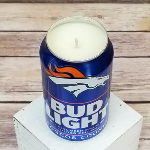 Denver Broncos Soy Candle