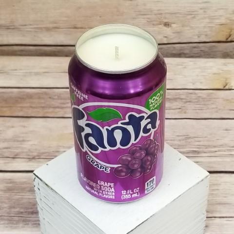 Fanta Grape Candle
