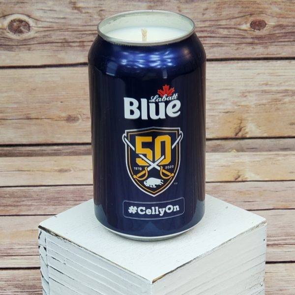 Buffalo Sabres Candle