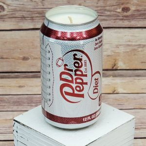 Diet Dr Pepper Candle