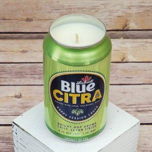 Labatt Blue Citra Candle