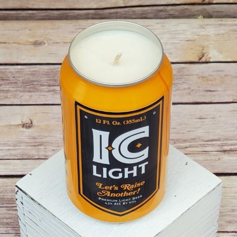 Iron City Penguins Candle