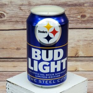Steelers Candle