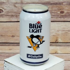 2019 Penguins Candle